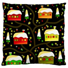 Winter  Night  Standard Flano Cushion Case (one Side) by Valentinaart