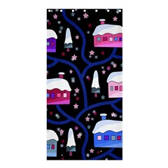 Magical Xmas Night Shower Curtain 36  X 72  (stall)  by Valentinaart
