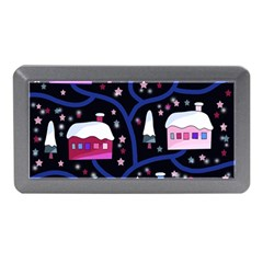 Magical Xmas Night Memory Card Reader (mini) by Valentinaart