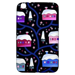 Magical Xmas Night Samsung Galaxy Tab 3 (8 ) T3100 Hardshell Case  by Valentinaart