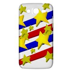 Flag Ransparent Cartoon American Samsung Galaxy Mega 5 8 I9152 Hardshell Case  by Onesevenart