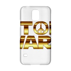 Stop Wars Samsung Galaxy S5 Hardshell Case  by Onesevenart