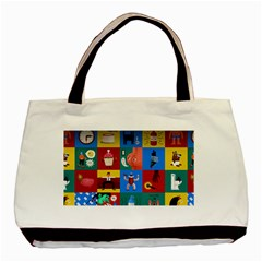 The Oxford Dictionary Illustrated Basic Tote Bag by Onesevenart