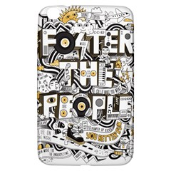 Foster The People Creative Typography Samsung Galaxy Tab 3 (8 ) T3100 Hardshell Case  by Onesevenart