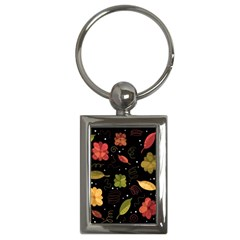 Autumn Flowers  Key Chains (rectangle)  by Valentinaart