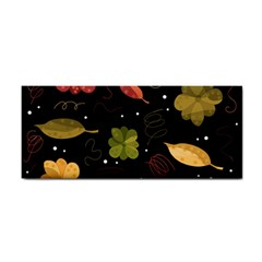 Autumn Flowers  Cosmetic Storage Cases by Valentinaart