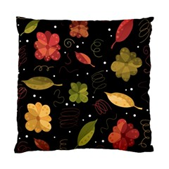 Autumn Flowers  Standard Cushion Case (two Sides) by Valentinaart