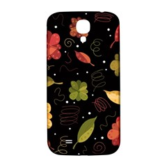 Autumn Flowers  Samsung Galaxy S4 I9500/i9505  Hardshell Back Case by Valentinaart