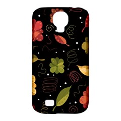 Autumn Flowers  Samsung Galaxy S4 Classic Hardshell Case (pc+silicone) by Valentinaart