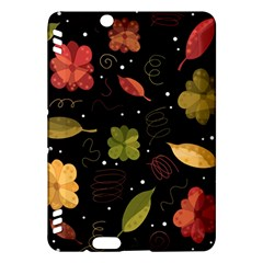 Autumn Flowers  Kindle Fire Hdx Hardshell Case by Valentinaart