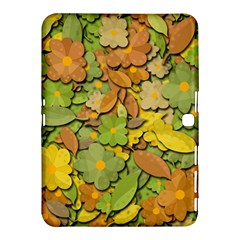 Autumn Flowers Samsung Galaxy Tab 4 (10 1 ) Hardshell Case  by Valentinaart