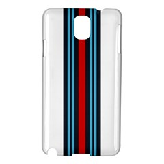 Martini White No Logo Samsung Galaxy Note 3 N9005 Hardshell Case by PocketRacers