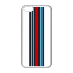 Martini White No Logo Apple Iphone 5c Seamless Case (white) by PocketRacers