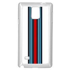 Martini White No Logo Samsung Galaxy Note 4 Case (white) by PocketRacers