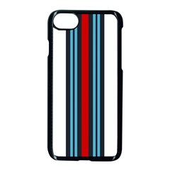 Martini White No Logo Apple Iphone 7 Seamless Case (black) by PocketRacers