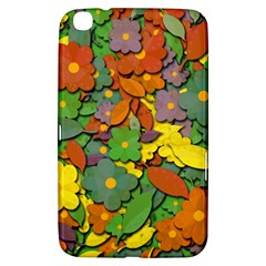 Decorative Flowers Samsung Galaxy Tab 3 (8 ) T3100 Hardshell Case  by Valentinaart