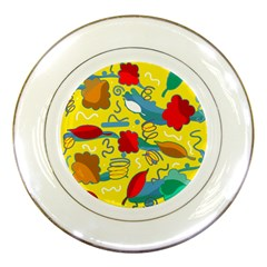 Weather Porcelain Plates by Valentinaart