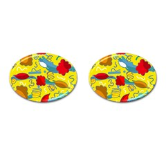 Weather Cufflinks (oval) by Valentinaart