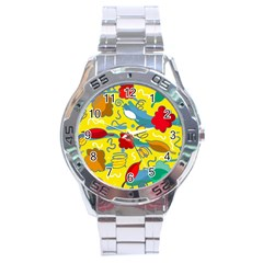 Weather Stainless Steel Analogue Watch by Valentinaart