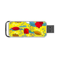Weather Portable Usb Flash (two Sides) by Valentinaart