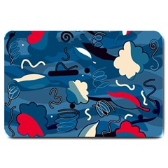 Ocean Large Doormat  by Valentinaart