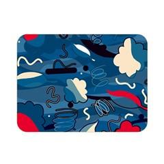 Ocean Double Sided Flano Blanket (mini)  by Valentinaart