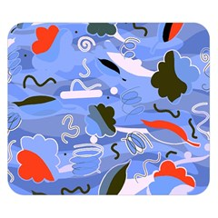 Sea Double Sided Flano Blanket (small)  by Valentinaart