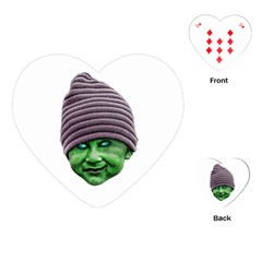 Evil Golbin Playing Cards (Heart)  by dflcprints
