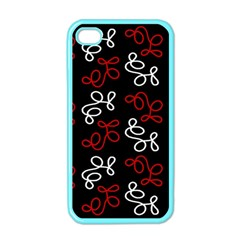 Elegance   Red  Apple Iphone 4 Case (color) by Valentinaart