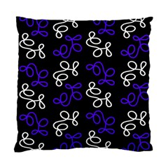 Elegance   Blue Standard Cushion Case (two Sides) by Valentinaart
