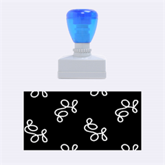 Elegance   Blue Rubber Stamps (medium)