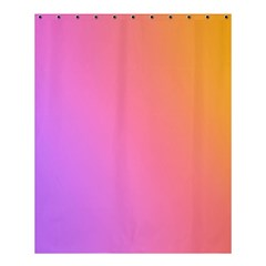 Blank Desk Pink Yellow Purple Shower Curtain 60  X 72  (medium)  by AnjaniArt