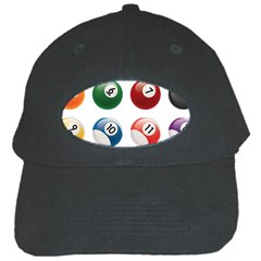 Billiards Black Cap by AnjaniArt