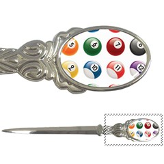 Billiards Letter Openers by AnjaniArt