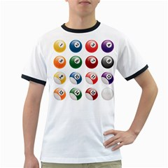 Billiards Ringer T Shirts