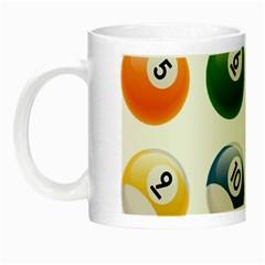 Billiards Night Luminous Mugs