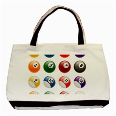 Billiards Basic Tote Bag