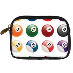 Billiards Digital Camera Cases by AnjaniArt