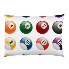 Billiards Pillow Case (two Sides) by AnjaniArt