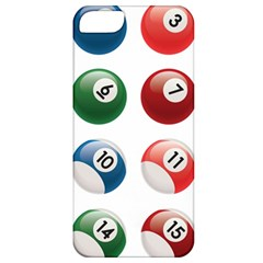 Billiards Apple Iphone 5 Classic Hardshell Case by AnjaniArt