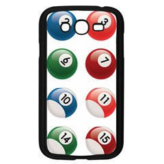 Billiards Samsung Galaxy Grand Duos I9082 Case (black) by AnjaniArt