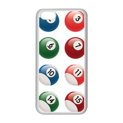 Billiards Apple Iphone 5c Seamless Case (white) by AnjaniArt