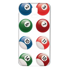 Billiards Samsung Galaxy S5 Back Case (white) by AnjaniArt