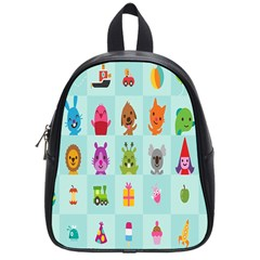 Animals Monster Music School Bags (small)  by AnjaniArt