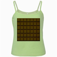 Chocolate Green Spaghetti Tank