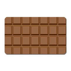 Chocolate Magnet (rectangular)