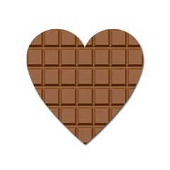 Chocolate Heart Magnet