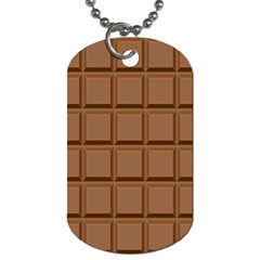 Chocolate Dog Tag (one Side)