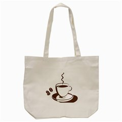 Coffee Beans Tote Bag (cream)