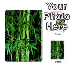 Bamboo Pattern Tree Multi Purpose Cards (rectangle)  by AnjaniArt